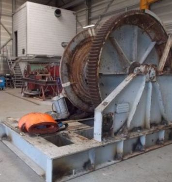 Complete overhaul anchorwinch